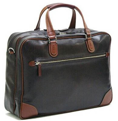 豊岡鞄認定 V.S.Wマチビジネスバッグ チョコ 国産 5998-20 送料無料