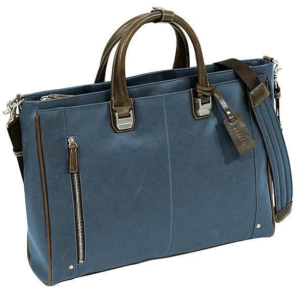 バジェックス トレジャービジネスバッグ 23-5534  ブルー 送料無料