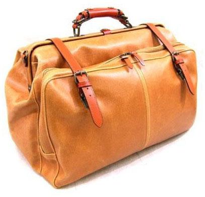 レトロオープンポケットダレスボストンバッグ 1484-24 キャメル 送料無料