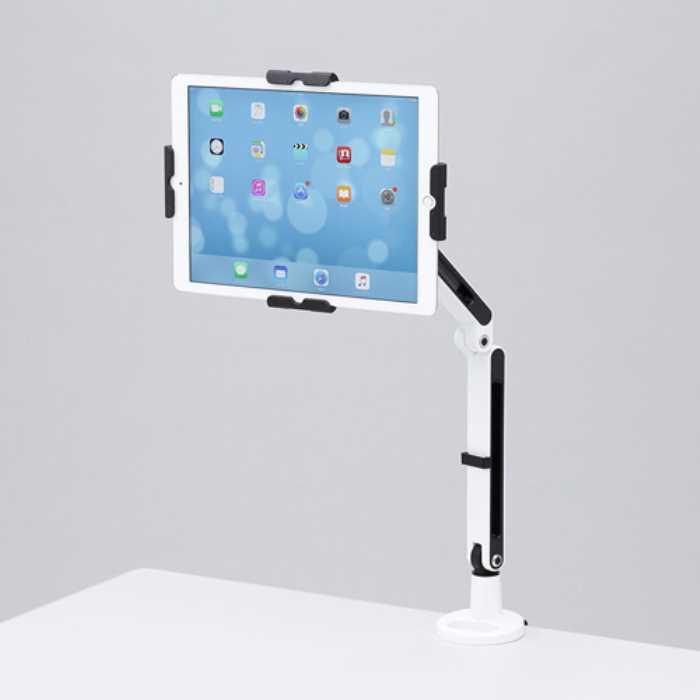 【送料無料】 11~13インチ対応iPad・タブレット用アーム ≪サンワサプライ≫ CR-LATAB24