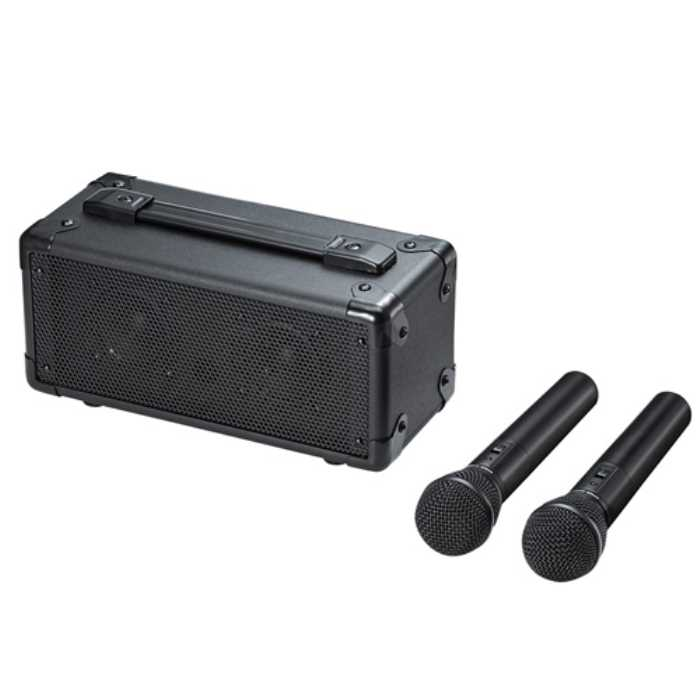 【送料無料】 ワイヤレスマイク付き拡声器スピーカー ≪サンワサプライ≫ MM-SPAMP7