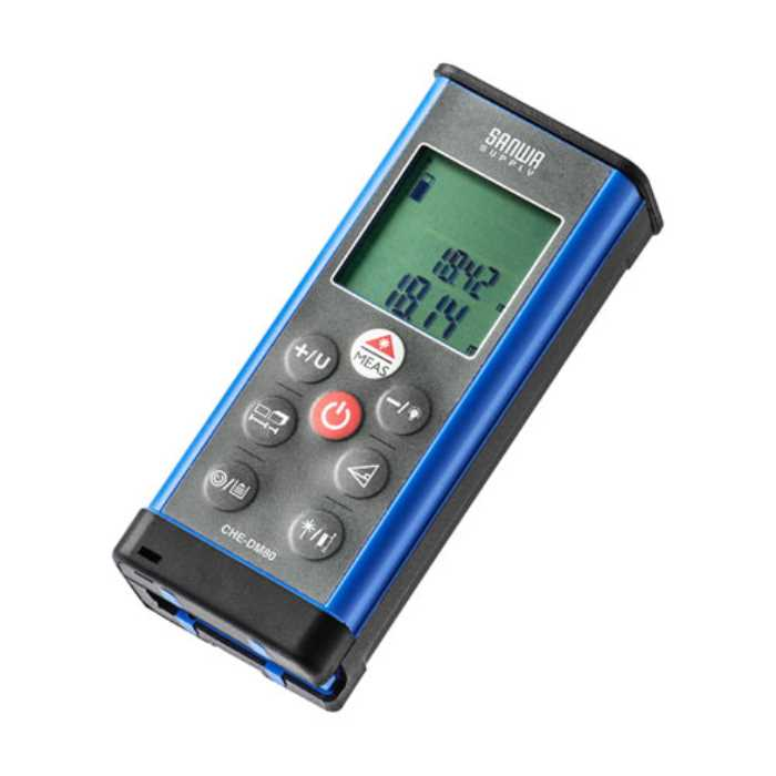 【送料無料】 レーザー距離計 ≪サンワサプライ≫ CHE-DM80