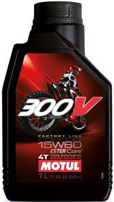 [国内正規品] MOTUL 300V FACTORY LINE OFF ROAD 【15W-60 1L×12缶】1ケース 業者用 プロ用 モチュール ファクトリー ライン オフロード バイク 2輪 オフロードバイク モタードバイク 100%化学合成油 4サイクル 4ストローク エンジンオイル 15W60 モチュールオイル