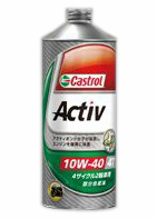 カストロール アクティブ 4サイクル 【10W-40 4L×6缶】 バイク 2輪 部分合成油 オイル CASTROL Activ 4T エンジンオイル 10W40