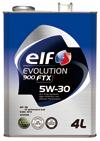 エルフ エボリューション 900 FTX 【5W-30 4L×6缶】 エンジンオイル elf EVOLUTION 900 FTX 省燃費 低燃費 ECO 低粘度 全化学合成油 SN/CF GF-5 5W30 エルフオイル elfオイル
