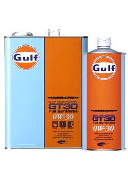 Gulf ARROW GT30 エンジンオイル【0W-30 20L×1缶】 ガルフ アロー サーキット走行 コンパクトカー NA自然吸気 低粘度使用車 省燃費 低燃費 エコ