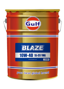 Gulf BLAZE 4サイクル オイル 【10W-40 20L×1缶】 ガルフ ブレイズ 4ストローク バイク 2輪 小型バイク 中型バイク 大型スクーター SL/CF/MA