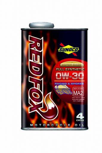 SUNOCO REDFOX RACING & SPORT 4サイクル オイル 【0W-30 20L×1缶】 スノコ 2輪 バイク レッドフォックス レーシング アンド スポーツ 100%化学合成 レーシングスペック エンジンオイル 0W30