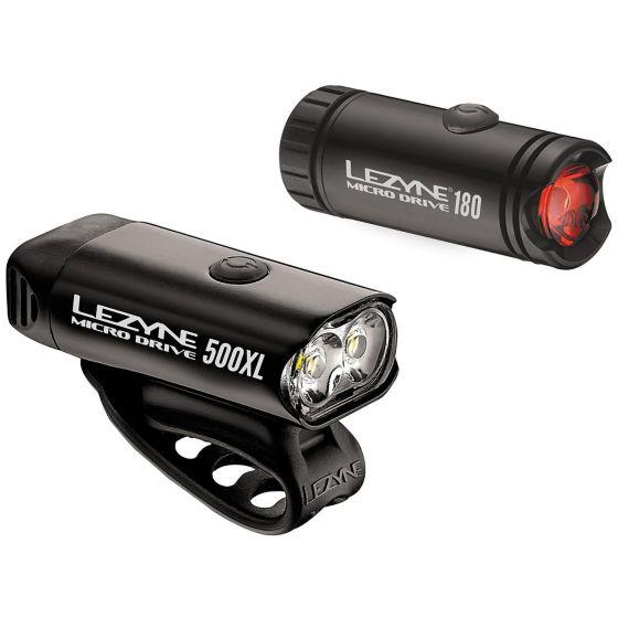 ☆【Lezyne】マイクロドライブ500XL /マイクロドライブライトセット