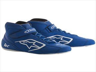 ☆【Alpinestars】Tech 1-Kカートブーツ Blue / White