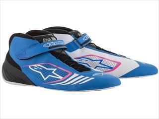 ☆【Alpinestars】Tech 1-KXカートブーツ Blue / White / Fuchsia