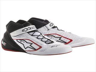 ☆【Alpinestars】Tech 1-KZカートブーツ Colour白い / 黒 / 赤