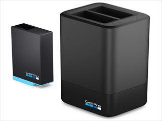 ☆【GoPro】MAXデュアルバッテリー充電器+バッテリー