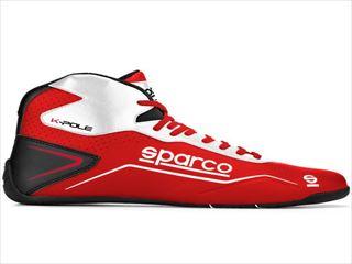 ☆【NEWモデル!!】Sparco(スパルコ) Red Kポールカートブーツ-子供のサイズ / K-Pole White