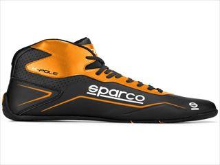 ☆【NEWモデル!!】Sparco K-Pole Kポールカートブーツ Black / Fluro Orange