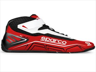 ☆【NEWモデル!!】Sparco K-Runカートブーツ Red / White