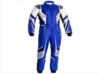 ☆【NEWモデル!!】Sparco プライムKカートスーツ-子供サイズ Prime K Blue / White / Black