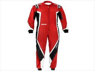 ☆【NEWモデル!!】Sparco Kerbカートスーツ-子供サイズ Red / Black / White
