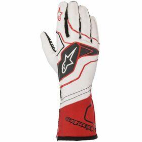 ☆【NEWモデル!!】Alpinestars  Tech 1-KX V2カートグローブ White / Red / Black