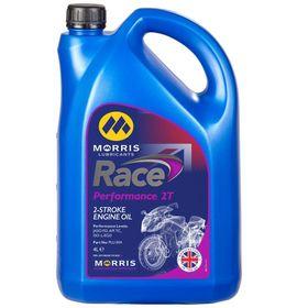 ☆【Morris Lubricants】Race Performance 2Tエンジンオイル | Size 4 Litre