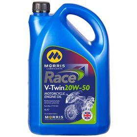☆【Morris Lubricants】Race Vツインエンジンオイル | Oil Viscosity 20W50Size5 Litre