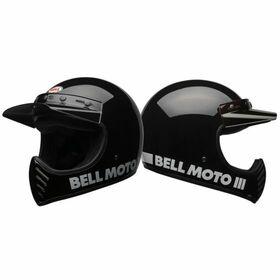 ☆【Bell】ベル Moto-3オートバイヘルメット helmet Colour:Classic Black クラシックブラック