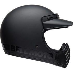 ☆【Bell】ベル Moto-3オートバイヘルメット helmet Colour:Blackout Matte Black / Gloss Black