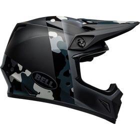 ☆【Bell】MX-9 MIPSグラフィックモトクロスヘルメット | Colour:Presence Black / Titanium / Camo