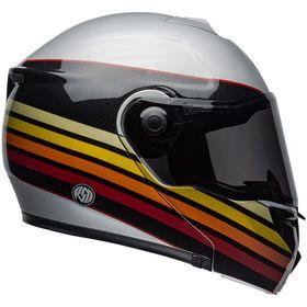 ☆【Bell】Street SRT Modular Graphic Motorcycle Helmet|Colour:RSD Newport Matt-Gloss Metal / Red