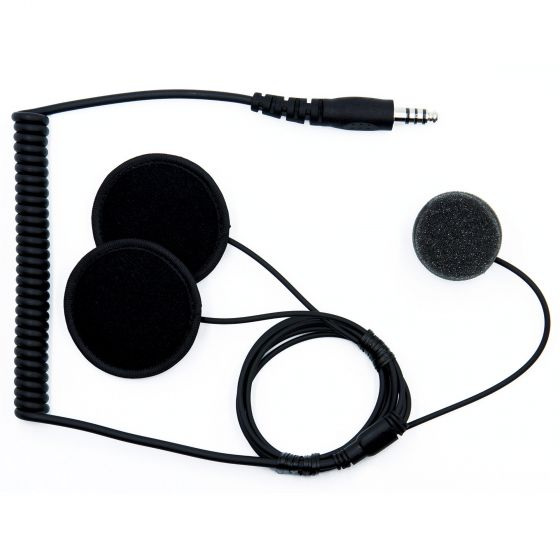 ☆【ZeroNoise】Intrepid Advanced Helmet Intercom Kit|OptionFull Face