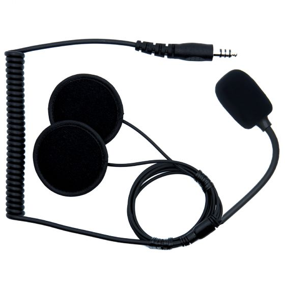 ☆【ZeroNoise】Intrepid Advanced Helmet Intercom Kit|OptionOpen Face