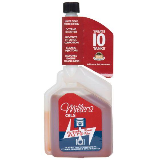 オクタンブースターを備えたVSPeマルチショットパワープラス ☆【Millers Oils】オクタンブースターを備えたVSPeマルチショットパワープラス