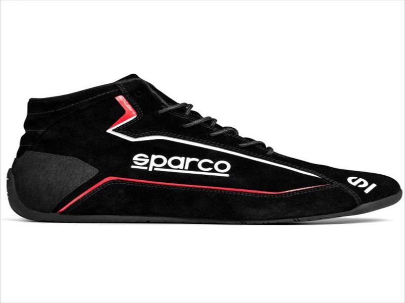 ☆【NEWモデル!!】Sparco スラローム+ Slalom+レースブーツ Black