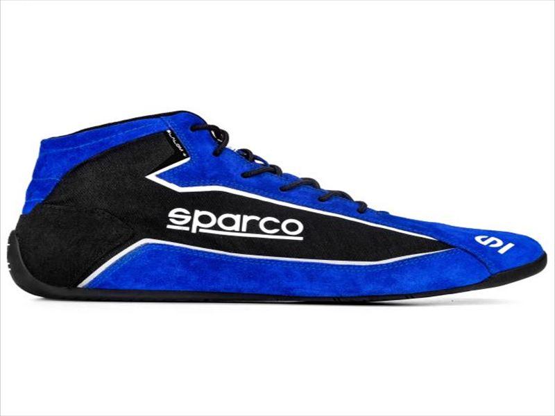 ☆【NEWモデル!!】Sparco スラローム+ Slalom+レースブーツ Blue / Black