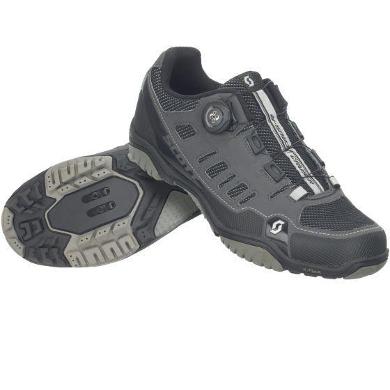 かっこいい MTB シューズ サイクルシューズ 【 トレーニング Road shoes MTB 】 Scott スコット Sport Crus-R Boa ボア MTB シューズ shoes Anthracite / Black 【 サイクルシューズ ロードシューズ マウンテンバイクシューズ サイクリングシューズ 靴 自転車 ツーリング 】