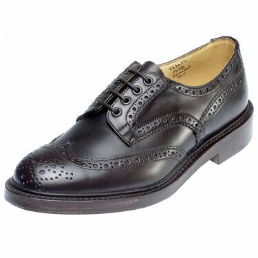 ☆【Trickers】トリッカーズ Bourton バートンEspresso Burnishedイギリス製 革靴 UKサイズ:6、6.5、7、7.5、8、8.5、9、9.5、10、10.5、11、12、13