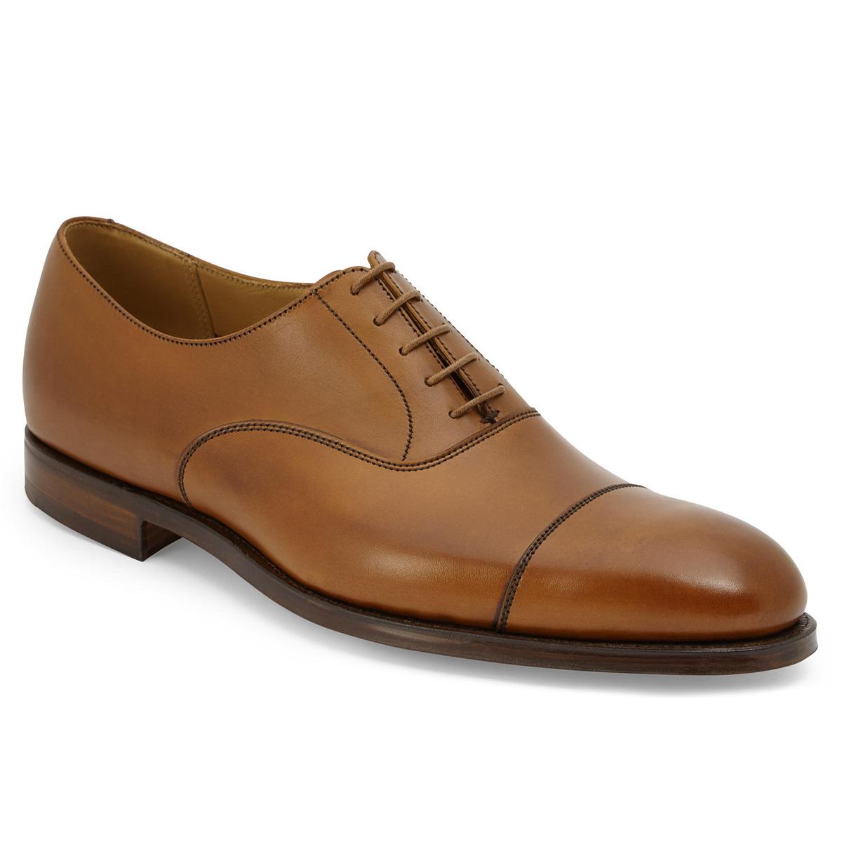 【Crockett and Jones】DORSET ワイズE クロケット&ジョーンズ 「ドーセット」 タン ブラウン 茶イギリス製 革靴 UKサイズ6~12(日本サイズ24.5cm~30.5cm)