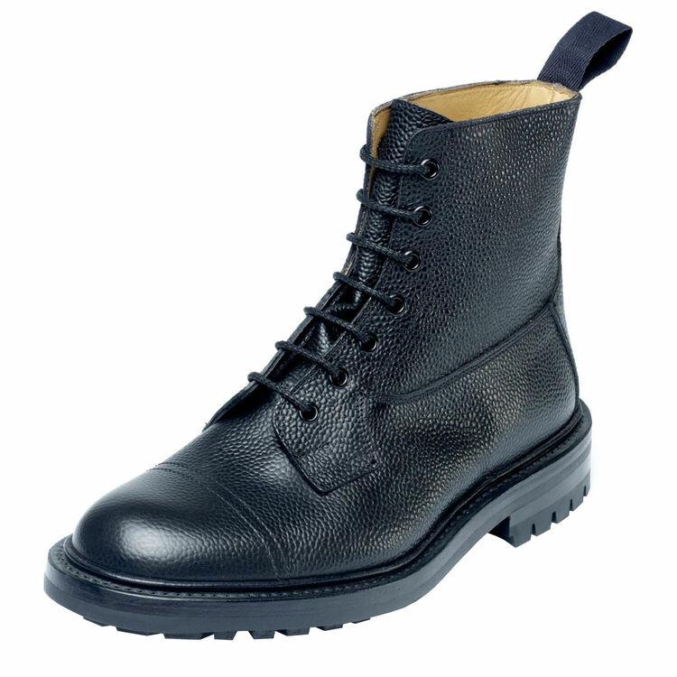 ☆【Trickers】トリッカーズ Grasmere グラスミア Black Scotch Grain イギリス製 革靴 UKサイズ:6、6.5、7、7.5、8、8.5、9、9.5、10、10.5、11、12、13