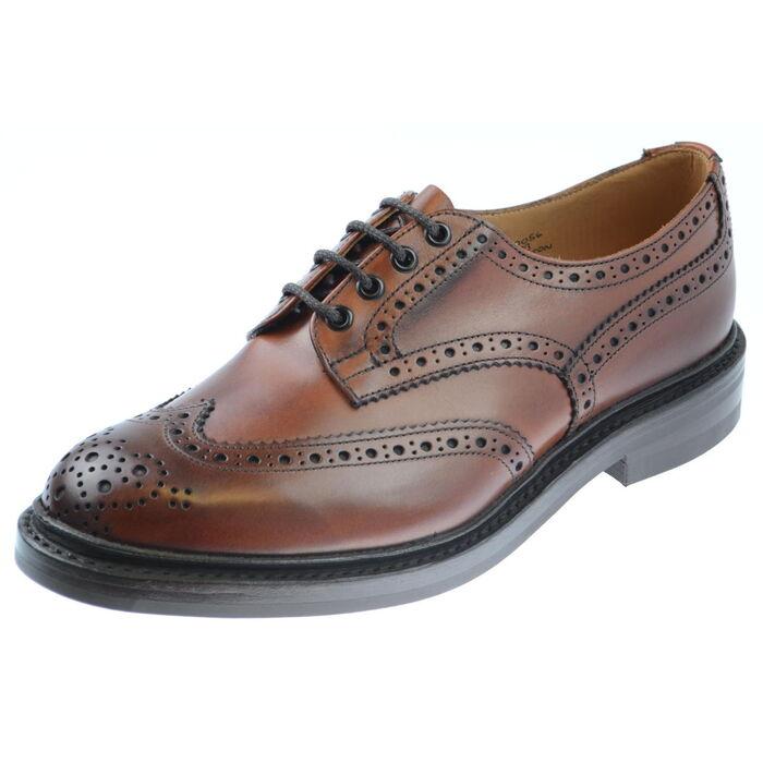 ☆【Trickers】トリッカーズ Bourton Dainite Chestnut イギリス製 革靴 UKサイズ:7、7.5