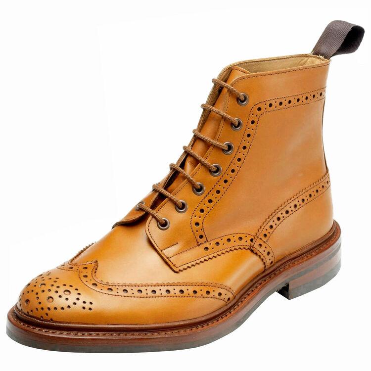 ☆【Trickers】トリッカーズ Stow - Dainite Sole ストウ-ダイニートソール Acorn イギリス製 革靴 UKサイズ:6、6.5、7、7.5、8、8.5、9、9.5、10、10.5、11、12、13
