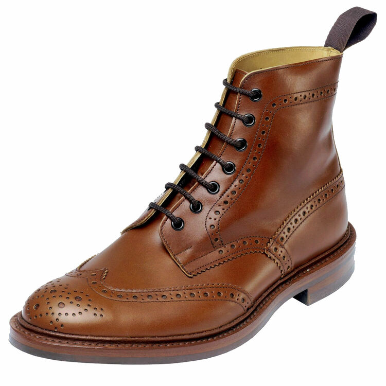 ☆【Trickers】トリッカーズ Stow - Dainite Sole ストウ-ダイニートソール Marron イギリス製 革靴 UKサイズ:6、6.5、7、7.5、8、8.5、9、9.5、10、10.5、11、12、13