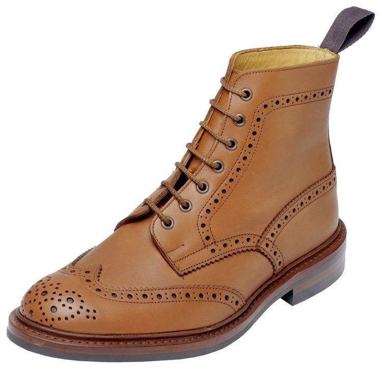 ☆【Trickers】トリッカーズ Stow - Dainite Sole ストウ-ダイニートソール Tan `C` Shadeイギリス製 革靴 UKサイズ:6、6.5、7、7.5、8、8.5、9、9.5、10、10.5、11、12、13