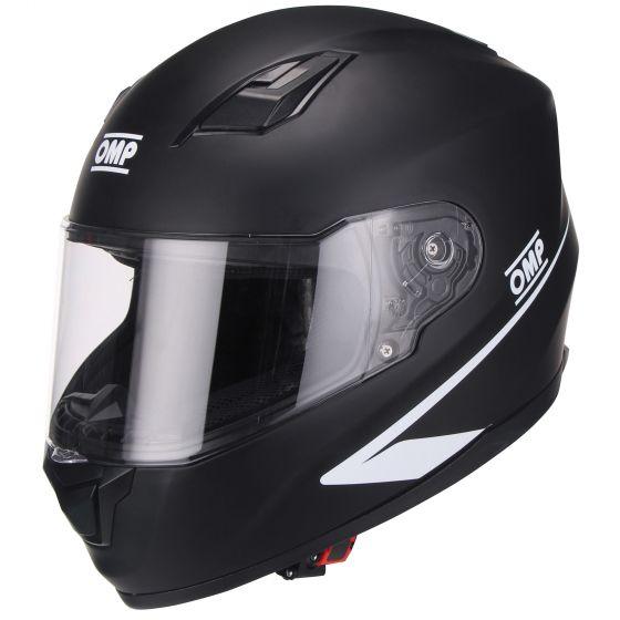 ☆【OMP】Circuit Evoヘルメット-マットブラック