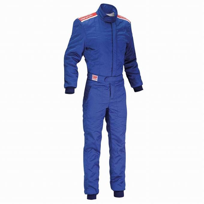 【OMP】スポーツ レース スーツ レーシング sport ブルー blue
