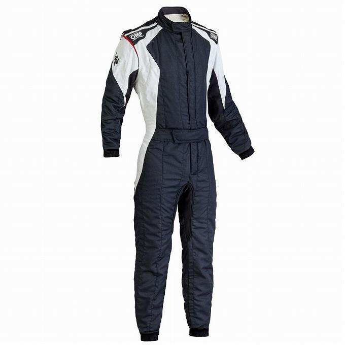 【OMP】ファースト エボ レース スーツ レーシング first evo ブラック×ホワイト 黒×白