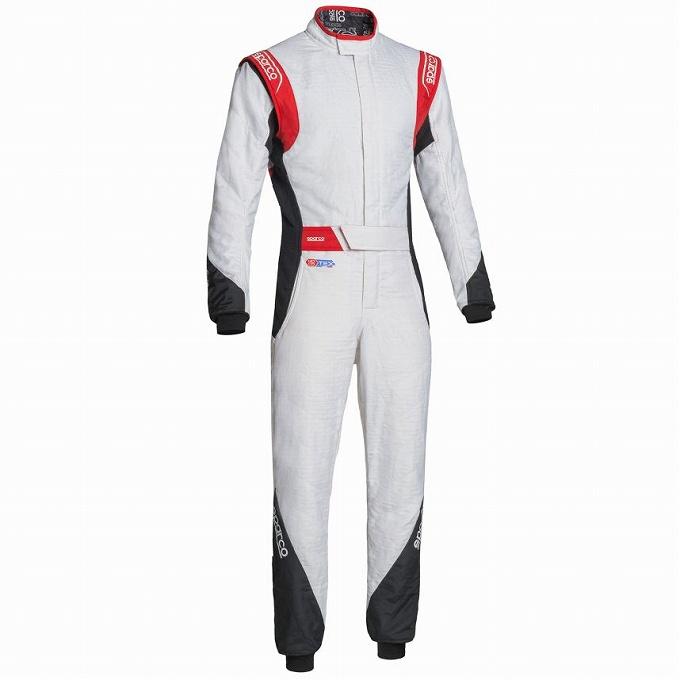 【Sparco】イーグル RS-8.2 レーススーツ レーシング Eagle suit スパルコ ホワイト×ブラック×レッド 白×黒×赤
