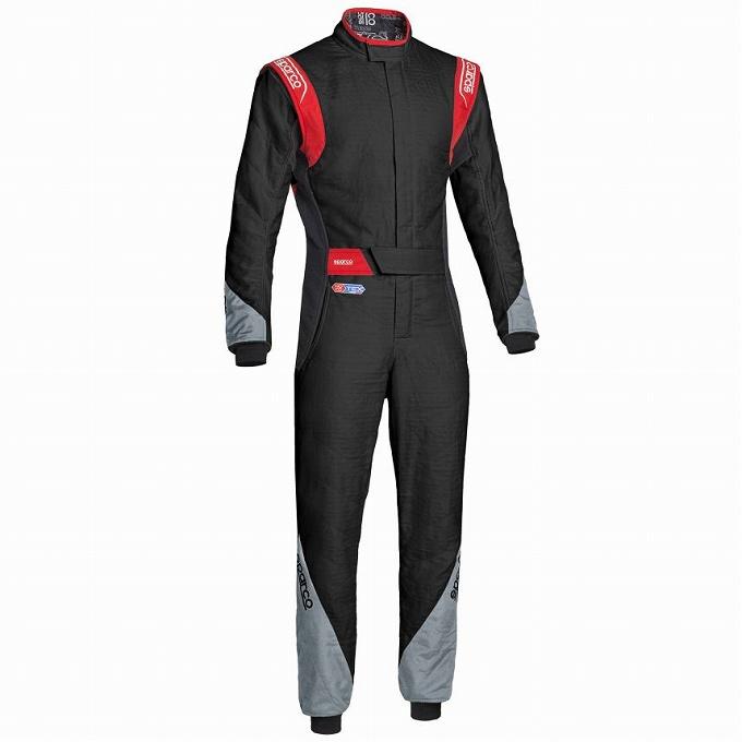 【Sparco】イーグル RS-8.2 レーススーツ レーシング Eagle suit スパルコ ブラック×グレー×レッド 黒×灰×赤