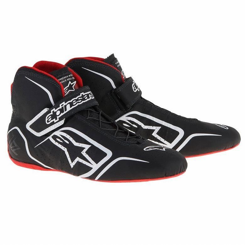【Alpinestars】 アルパインスターズ バイク用シューズ Tech 1-Z Race Boots  Black / White / Red ブラック×ホワイト×レッド
