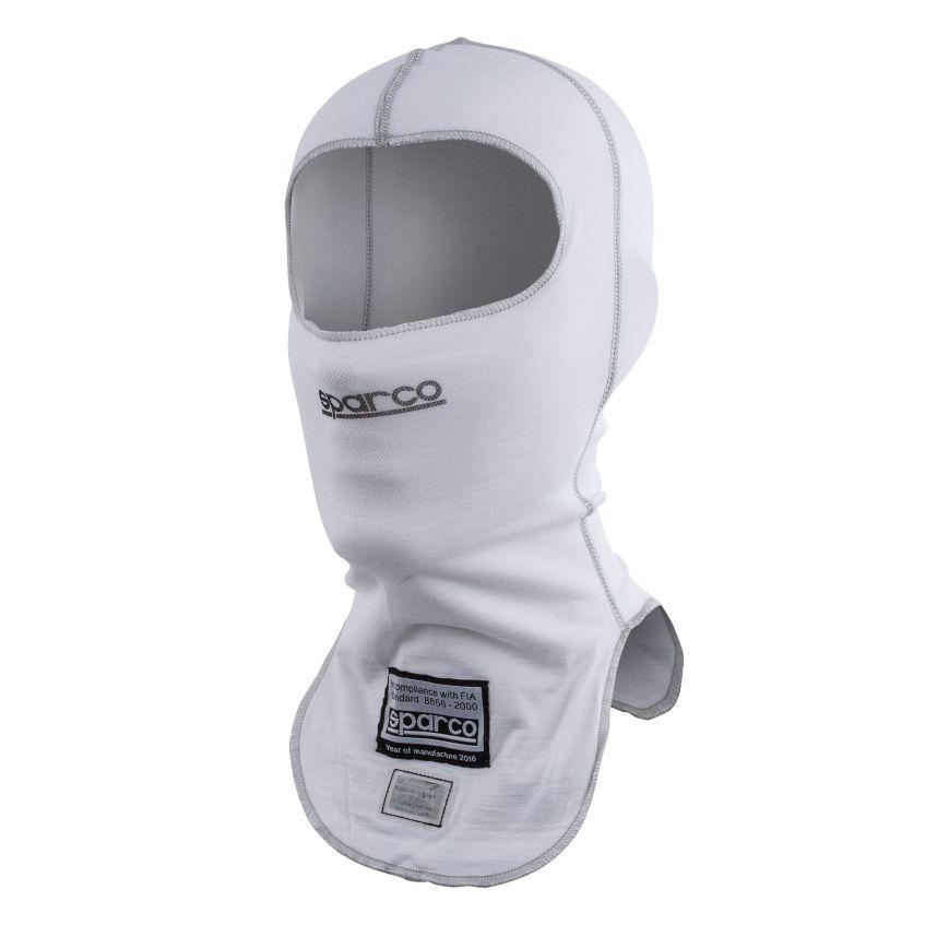 ☆【Sparco】シールドRW-9オープンフェイス耐火バラクラバ ホワイト