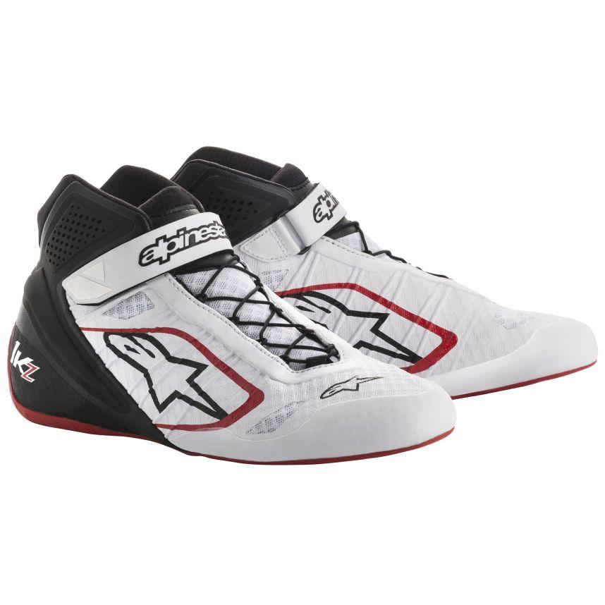 ☆【Alpinestars】Tech 1-KZ Kart Boots ホワイト/ブラック/レッド